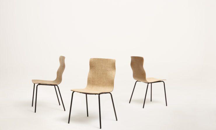 Biokompozitból készült szék